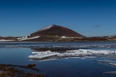 Selvallavatn - Iceland (Kadu Flyer) Tags: selvallavatn iceland snæfellsnes snow ice volcano lake mountain landscape water
