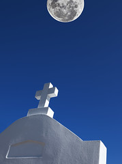 in deference to the moon (mfm2010) Tags: cemetery cross metcalfeimages neworleans minimalism fantasia surrealism
