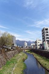 2017.04.05 Matsumoto (11) fr (Kotatsu Neko 808) Tags: matsumoto 松本 japan 日本 river