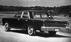 1965 Rambler Ambassador 990 Sedan, August 1964 American Motors press photo (R36 Coach) Tags: rambler ramblerambassador ramblerambassador990 amc americanmotors 1965 pressphoto presskit