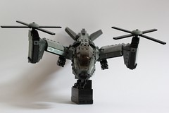 Serpent Gunship Armament 1 (Andreas) Tags: lego aircraft vtol gunship legovtol legogunship vtolgunship thepurgeeu stealthgunship eugunship