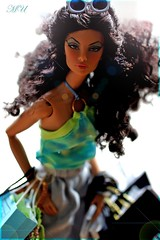 Back To Black (Michaela Unbehau Photography) Tags: blue jason black fashion shopping hair deutschland photography back doll body curls curly natalia wu fatale royalty summersun nuface