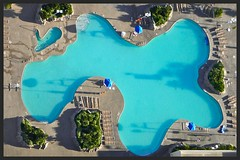Swimming Pool (swampzoid) Tags: blue pool swimming lasvegas shape freeform
