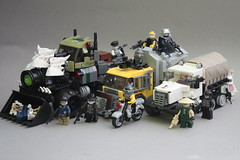 There's always a bigger fish (Exxtrooper) Tags: new original 3 brick rabbit bunny green truck photo cool war call factory arms lego military duty transport stickers apocalypse olive machine cargo troopers made creation hero heads vehicle guns trucks boxes monsters decal minifigs dust custom militia bionicle weapons collector fallout apoc npu clans mg34 exx brickarms apocalego exxtrooper
