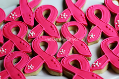 pink2 (Elizabeth / LoneStarsandStripes) Tags: pink cookies ribbons cookie purple cancer breastcancer royalicing decoratedcookies cookiedecorating awarenessribbons