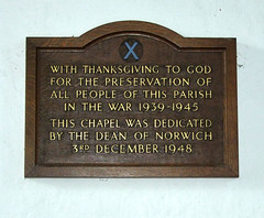 the preservation of all people of this parish (Simon_K) Tags: nethergate saxlingham