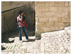 Postcards from Matera - #07 (Francesco Agresti  www.francescoagresti.com) Tags: street travel italy color fuji superia south streetphotography streetlife basilicata fujifilm streetphoto matera viaggio stree southitaly juststreetphotography simulatedfilm francescoagresti fujix10 s8un3no frankies8un3no francescoagresticom