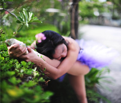 (_ positivity) Tags: ballet nature girl dance model photoshoot bokeh tutu expansion