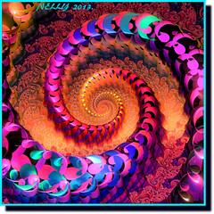 *CRAZY SUMMER...* (MONKEY50) Tags: flickraward abstract art fantasy digital color colors colour colours fractals fractal paintshoppro summer surrealism musictomyeyeslevel1 spiral artdigital awardtree theunforgettablepictures beautifulphoto hypothetical autofocus