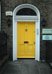 georgian doors dublin yellow V