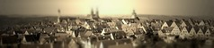 rothenburg ob der tauber (...small world...) Tags: world travel sepia architecture germany miniature dof rooftops small shift medieval unesco ob tilt der rothenburg tiltshift tauber