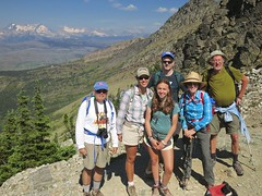 at the Grinnell Glacier overlook (jcoutside) Tags: montana backpacking glaciernationalpark