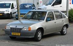 Opel Kadett 1.3 GLS 1988 (XBXG) Tags: auto old classic netherlands car amsterdam vintage germany deutschland automobile 1988 nederland voiture german e 13 paysbas opel deutsch gls ancienne kadett opelkadett allemande kadette opelkadette tx51sj sidecode4