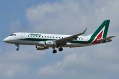 Embraer ERJ-175STD Alitalia Cityliner (CYL) EI-RDN - MSN 347 - Named Parco Nazionale Della Alta Murgia (Luccio.errera) Tags: parco alta msn della named alitalia murgia embraer nazionale 347 cyl cityliner erj175std eirdn