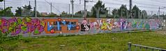 Den Haag Graffiti : HBF 25 (Akbar Sim) Tags: holland netherlands graffiti fb nederland denhaag 25 jam hbf thehague motek skore fris senk agga akbarsimonse bizm hoflaak akbarsim heinekenbierforce