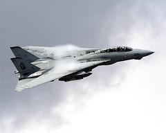040925-N-0295M-047 (shockwava) Tags: pass airshow vapor airpower highspeed nasoceana oceana flyby airpowerdemo flybye vf11 redrippers wingswept wingsweep