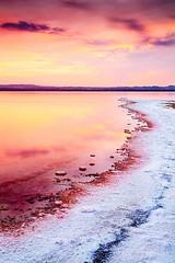 Fuego y Sal (Manolo Garca (Turrican)) Tags: espaa atardecer spain agua europa europe paisaje salinas manolo filtro largaexposicion manologarca turrican manologarcia 5dmkii turricanmurcia aguafilter turricanmuecia