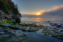 Sunset at Short Sands Beach (RaminN) Tags: sunset pacificocean oswaldweststatepark shortsands rnabipour