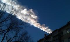 Подъем челябинского метеорита