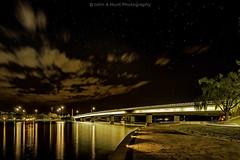 Path to the bridge (John A Hunt Photography) Tags: longexposure night australia canberra parkes australiancapitalterritory lakeburleygriffin