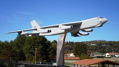 B-52 at VFW Hall, Chester West Virginia,  Rte 30 10-2013 (polepenhollow) Tags: buff bomber coldwar usairforce