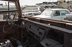 (kamshots) Tags: old cars car yard junk iran tehran scrap streetshot