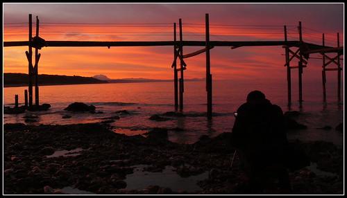 Fotografando il tramondo