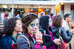 Day of the Dead parade 1 (Tawhai Moss) Tags: street dead day mexican wellington