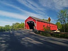 Spanning The Hoosick River (todonn9364) Tags: new york upstate coveredbridges buskirk buskirkcoveredbridge
