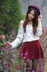DSC05381 (rickytanghkg) Tags: portrait girl beauty female asian model outdoor sony chinese taiwanese
