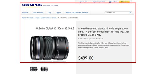 M.Zuiko Digital 12-50mm f3.5-6.3 Standard Wide Zoom for Olympus PEN - Olympus Imaging Australia 2013-11-06 13-20-24