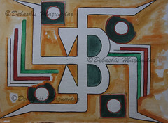 Om 11 (debasish_mazumdar_om) Tags: life abstract art sign yoga painting religious artwork symbol expression religion holy sound sacred universal om conceptual universe hindu hinduism ohm aum eternal mantra chant vision:text=0736 vision:outdoor=0535 omconsciousness