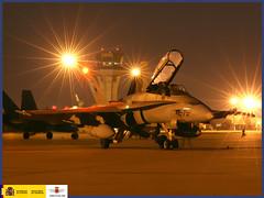 Premios Fotografía 2008 accésit: Nocturno (Ejército del Aire Ministerio de Defensa España) Tags: 2008 premios avión base aérea caza fotografía
