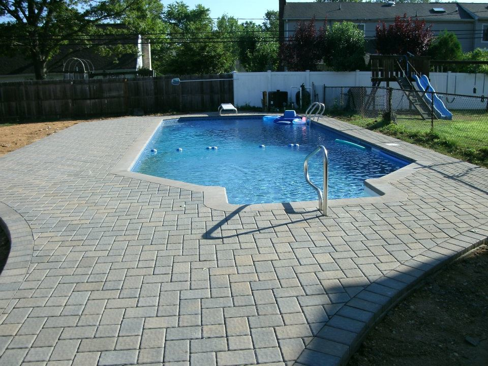 Perfect Vinyl Liner Inground Pool By Backyard Masters (Backyard Masters) Tags: New  York Pool