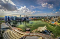 Singapore in Panorama baby! (Wameq R) Tags: ocean old bridge light sea sun building bus skyline architecture photoshop canon island boat singapore asia day ship afternoon crane 7d oil 5d 1022mm hdr archipelago lightroom dockyard photomatix singaporecity colorefex wmphotography 5dmarkiii 5dm3 hdrefex 5dmiii
