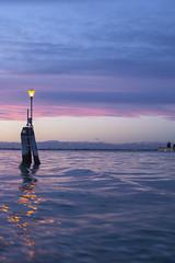 IMG_2838 (SamSeguso) Tags: pink venice light sunset italy mountains water boat lagoon venise bricola sunsetinvenice