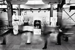 The more things change (docpop) Tags: street nyc blackandwhite newyork film station analog 35mm photography metro trix streetphotography tunnel transit grandcentral ricoh gr1 americananalog