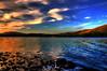 Summer days end (Tony Shertila) Tags: blue sunset england panorama lake mountains weather golden scenery europe day view britain derwent lakes lakedistrict scenic hills clear cumbria vista keswick hdr mygearandme mygearandmepremium bassenthaitewater