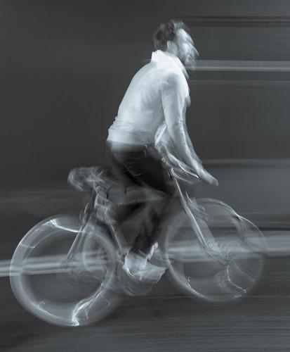 Speeding through Shoreditch