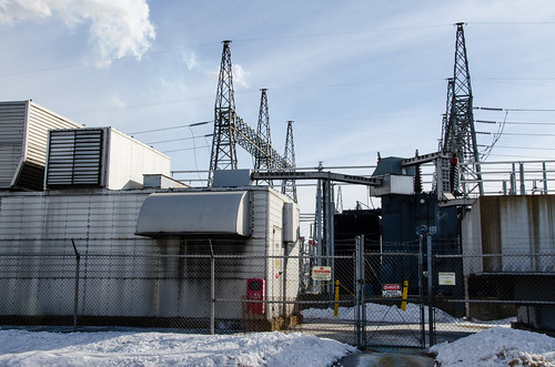 Combustion Turbines at Merrimack Station by PSNH, on Flickr