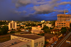 A vista do meu apartamento (gbspen1) Tags: city cidade cloud storm rain panoramic panning chapeco