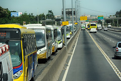 Extra Busspur Autobahn Rio de Janeiro