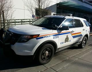 Royal Canadian Mounted Police, North Vancouver, BC Patrol Vehicle NV3016