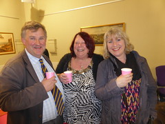 "Oliver Colvile enjoying a drink out of our VIP paper cups • <a style=""font-size:0.8em;"" href=""https://www.flickr.com/photos/66700933@N06/12425170503/"" target=""_blank"">View on Flickr</a>"