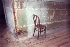 Rusted Chair (CityOfDave) Tags: nyc newyorkcity abandoned chair dorm urbanexploration dormitory rooseveltisland abandonedbuilding welfareisland centralnursesresidence