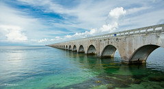 Old Bridge- where does it end? (Dieter Gora) Tags: florida keys brcken bridge sevenmile historicbridge floridakeys sevenmilebridge usa sunshinestate canon60d elitegalleryaoi bestcapturesaoi