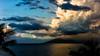 Rain Showers over West Maui Mountains (alliance1) Tags: ocean sunset storm mountains color rain clouds hawaii maui summicron35mmasph leicam9 20132014