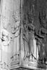 Apsara in Interior Left Side Column Corner next to the King's Gate of Angkor Wat (Patumraat) Tags: world old travel holiday gambling building tourism beautiful architecture angel wonder thailand temple ancient cambodia heaven vishnu dancing image god religion goddess ruin culture buddhism fortune relief siem thom classical civilization shape angkor wat hindu bas apsara asean reise reab khmehr