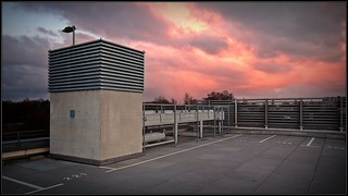 Oldenburg - parking deck - shopping mall - lower saxony