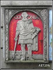 Marcus Favonius Facilis, a 1st century AD Roman centurion (Alan B Thompson) Tags: picasa olympus colchester 2014 sp590uz
